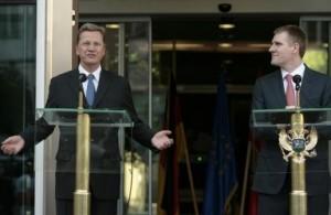 Westerwelle: S'ka negociata për ndryshim të kufijve