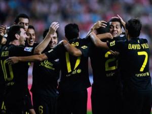 Barcelona, klubi më i mirë i vitit 2012