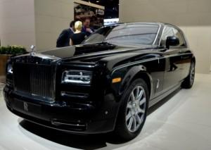 Rolls-Royce në Shanghai me 21 prill