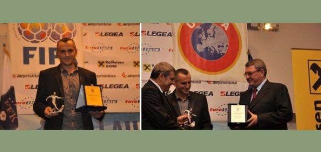 Idrizi futbollist i vitit në Kosovë