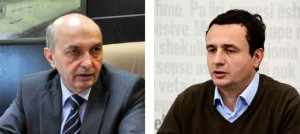 Takohen Isa Mustafa dhe Albin Kurti