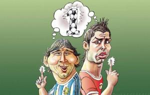 Ronaldo dhe Messi
