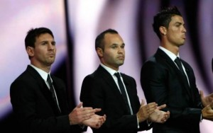 Messi kundër CR7 e Iniesta