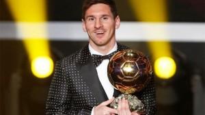 """Lionel Messi e fiton për herë të katërt """"Topin e Artë"""""""