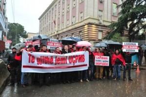 """Protesta në Tiranë """"Të gjithë jemi UÇPMB"""""""