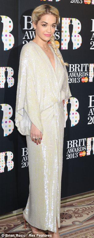 """Rita nominim i dyfishtë në """"Brit Awards 2013″"""