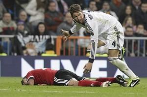 Sergio Ramos pezullohet për katër takime nga federata spanjolle e futbollit