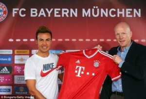 Bayern Munche e dënon Gotze