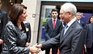 Rompuy sot në Prishtinë, Bildt nesër
