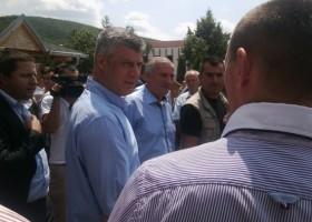 Zhegra komunë, Thaçi: Të tjerët vetëm fjalë, ne e realizuam