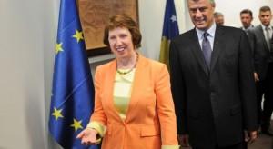 Catherine Ashton , takimet me zyrtarë të Kosovës
