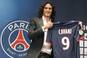 Edinson Cavani zyrtarisht prezantohet te PSG