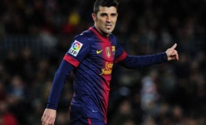 David Villa te Atl. Madrid