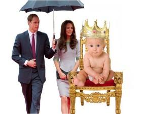 William i ngazëllyer që është bërë baba