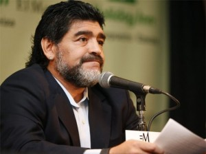 SHBA i mohon vizën Maradonas