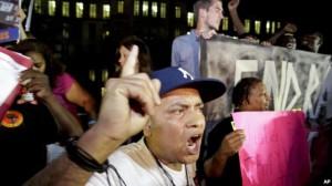 Protesta ndaj vendimit në çështjen Zimmerman