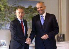 Edi Rama takon sot Tony Blair, do marrë këshilla për qeverisjen e re