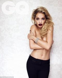 Rita Ora zhvishet për 'GQ'