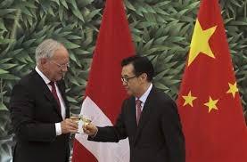 Zvicra dhe Kina nënshkruan marrëveshje për tregti të lirë