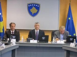 Hashim Thaçi: Qeveria nuk merret me çështjen e logos