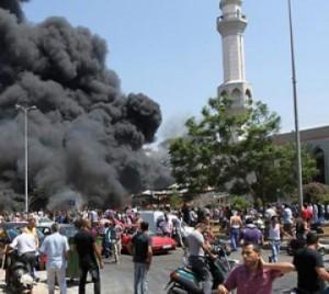 Sulm me bombë në Bejrut