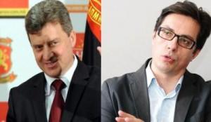 Gjorgje Ivanov dhe Stevo Pendarovski në garën për president