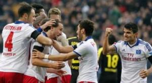 Hamburgu turpëron Dortmundin