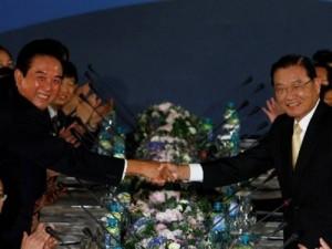 Kinë-Tajvan, takim historik