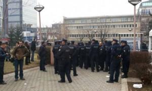 """Policia """"blindon"""" Rektoratin"""