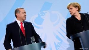 Rexhep Tajip Erdogan në Berlin