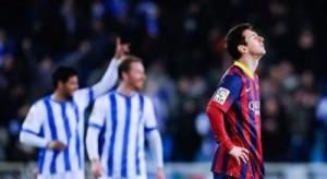 Real Sociedad turpëron Barcelonën