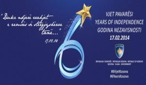 Hashim Thaçi poston në Facebook logon e 6 vjetorit të Pavarësisë