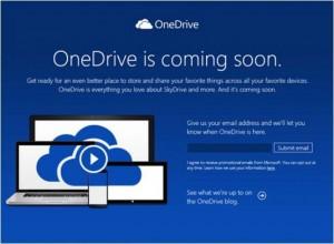 Microsoft ndryshon emrin e SkyDrive në OneDrive