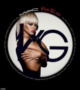 Rihanna pozon sërish e zhveshur, por tani për qëllim të mirë