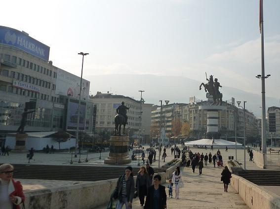 Shkupi 2014 sikur projektet hitleriane