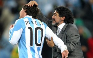 Maradona:Asistent i Guardiolës, nëse ai merr Messin