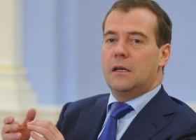 Dmitry Medvedev viziton Krimenë