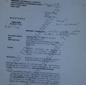 Noka: SHISH s'kërkoi përgjim, por mbledhje informacioni për të emëruarit në polici