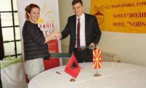 Shqipëri-Maqedoni, memorandum bashkëpunimi për turizmin