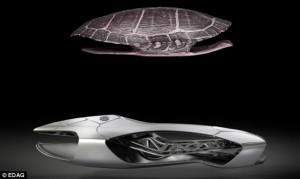 Makina e frymëzuar nga skeleti i breshkës