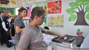 Abdel Fatah al-Sisi prin me vota në Egjipt