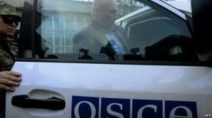 OSBE: Humbet kontakti me ekipin e dytë në Ukrainë