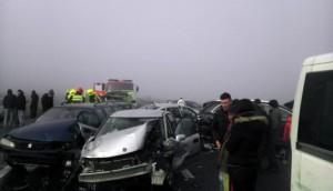 19 të lënduar nga përplasja e 3 autobusëve në Beograd