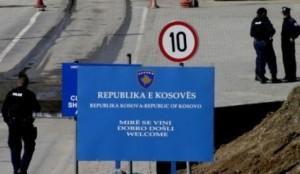 Kosova dhe Serbia me pika kufitare