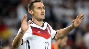 Klose tërhiqet nga Kombëtarja Gjermane