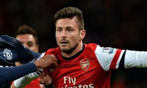 Olivier Giroud e lë keq Arsenalin