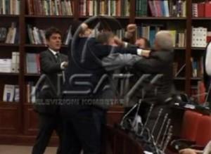 Grushta në Kuvendin e Maqedonisë