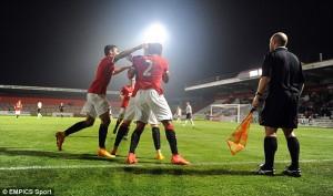 Adnan Januzaj shënon supergol për U21 të United