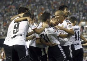 La Liga, Valencia e pandalshme, ngjitet në krye