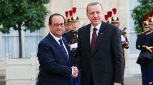 Konflikti sirian forcon lidhjet mes Turqisë dhe Francës
